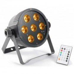 Reflektor FlatPAR 7x 15W RGBAW