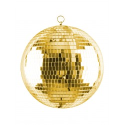 Kula lustrzana złota 20cm