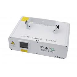 Laser RGB 1 Watt Ibiza1000 (pakiet 4-dniowy)