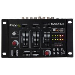 czterokanałowy mikser DJ STM3030B z USB czarny (pakiet 4-dniowy)